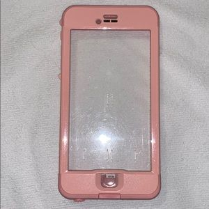 Blush Pink LifeProof Case for Iphone 7Plus